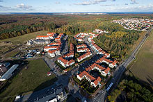 Sokółka and Fort Forest housing estates, located in the green Tricity Protected Area.